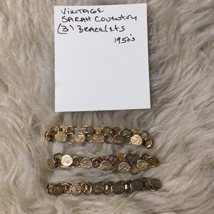 Vintage Sarah coventry bracelets